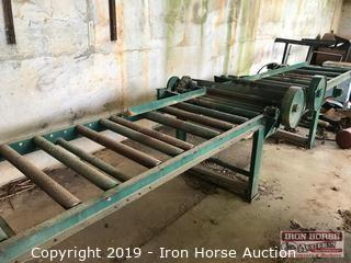 Corley Saw Mill Outfeed Table
