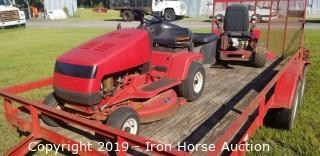 "33"" Snapper Riding Mower with Bagger"