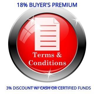 18% Buyer's Premium