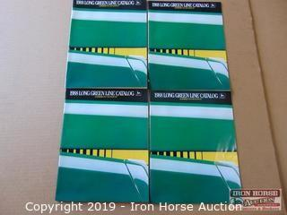 Four 1988 Long Green Line John Deere Catalogs