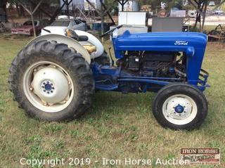 1955 Ford 800 Series Model 850 Tractor