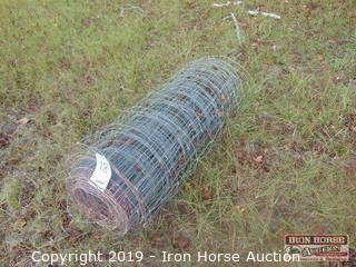 "Partial Roll of 47"" Wire Fencing"