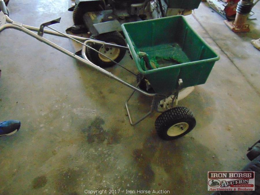 Lesco 50 Lb Spreader : Iron horse auction commercial trucks pickup