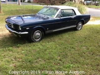 1966 Ford Mustang GT Convertible 289