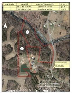 6.453+/- Acres Located off Spainhour Mill Rd. in Forsyth County