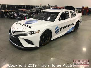 Toyota Camry Race Car with Motor and Driveline (Genius Sports Toyota Camry Wrap)