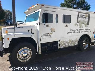 International Brinks Armored Truck