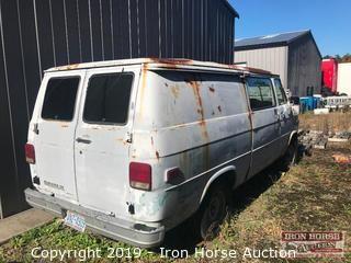 1988 Chevrolet G Series G-10 Van