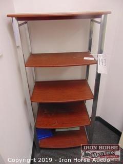 Five Shelf Book Shelf