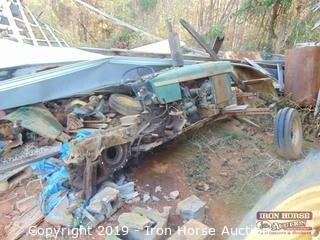 John Deere 2630 Tractor (Selling As Parts Machine)