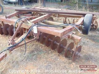Twenty-Eight Disc Smoothing Disc Harrow