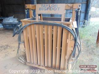 Taylor Bigfoot Tobacco Baler