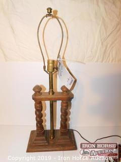 Knob Creek Wooden Lamp