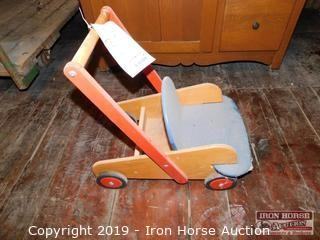 Child's Push Cart