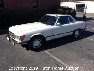 1973 Mercedes Benz  107 (450SL) Hardtop Convertible