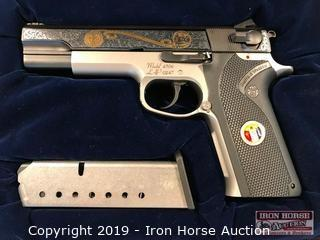 Smith & Wesson Model 4506 45 Auto LAPRAAC 65th Anniversary Engraved