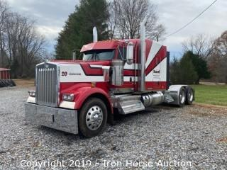 2016 Kenworth W900 Road Tractor w/ Limited Edition No. 242 ICON 900 Sleeper Cab