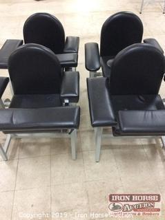 (4) Phlebotomy Single Seat Chairs (4XMONEY)