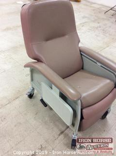 Lumex Reclining Phlebotomy Chair on Casters