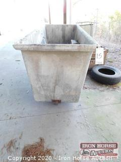 Fiberglass Trash Cart