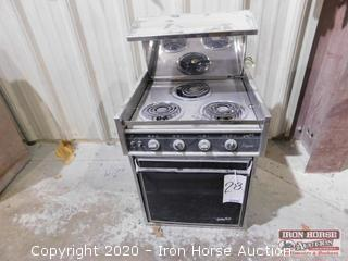 Galley Maid Empress 3 Burner Range and Oven
