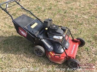 "Toro Turfmaster 30"" Twin Blade Mower with Bagger"