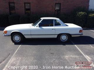 1973 Mercedes Benz 107 (450SL) Convertible