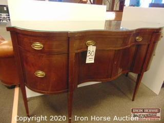 Baker Furniture Mahogany Buffet