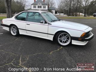 1987 BMW 635 CSI