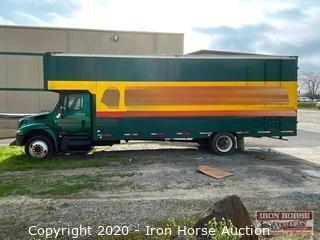 2004 International 4300 DT466 Box Truck