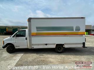 2001 GMC 3500 15' Box Truck