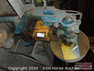 Johnson Machine Hydraulic Punch