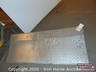 Aluminum Dock Plate 72x30