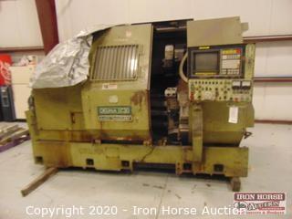Okuma LC-30 CNC Machine 4-Axix Simulturn
