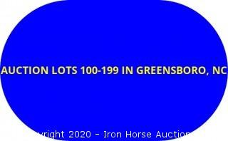 AUCTION LOTS 100-199 LOCATED IN GREENSBORO