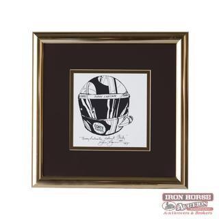 """Terry Labonte Helmet Study"" (Retail $300)"