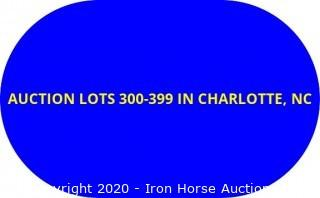 AUCTION LOTS 300-399 LOCATED IN CHARLOTTE
