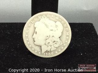 1900 Morgan Dollar Mint Mark O