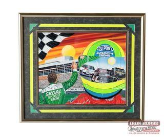 Charlotte Motor Speedway Program Cover 1994 (Retail $8,500)