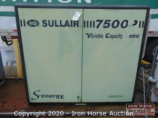 Sullair Model 7509PS/A Rotary Screw Air Compressor