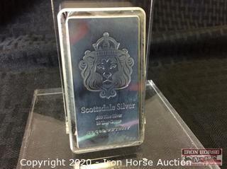 Scottsdale Mint Silver Bar