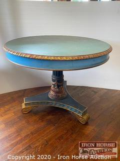 Ornate Round Table