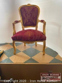 Gilded Armchairs