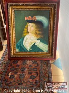 Portrait on Easel