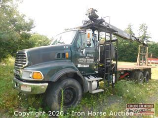 2006 Sterling Boom Truck w/ Fassi F250SE Boom