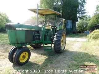 1972 John Deere 3020 Narrow Front 77 HP Diesel Row Crop Tractor w/ Turbo Charger