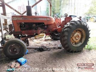 1967 Allis-Chalmers D17 Series iV 63 HP Tractor
