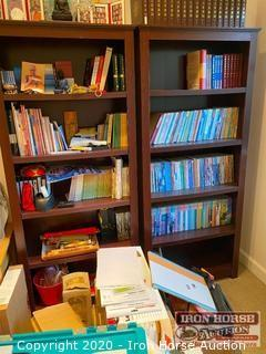 (2) Book Shelves