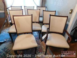 (8) Dining Table Chairs