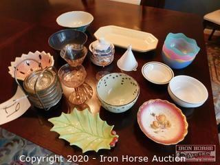 Grouping of Assorted Bowls and Serving Pieces